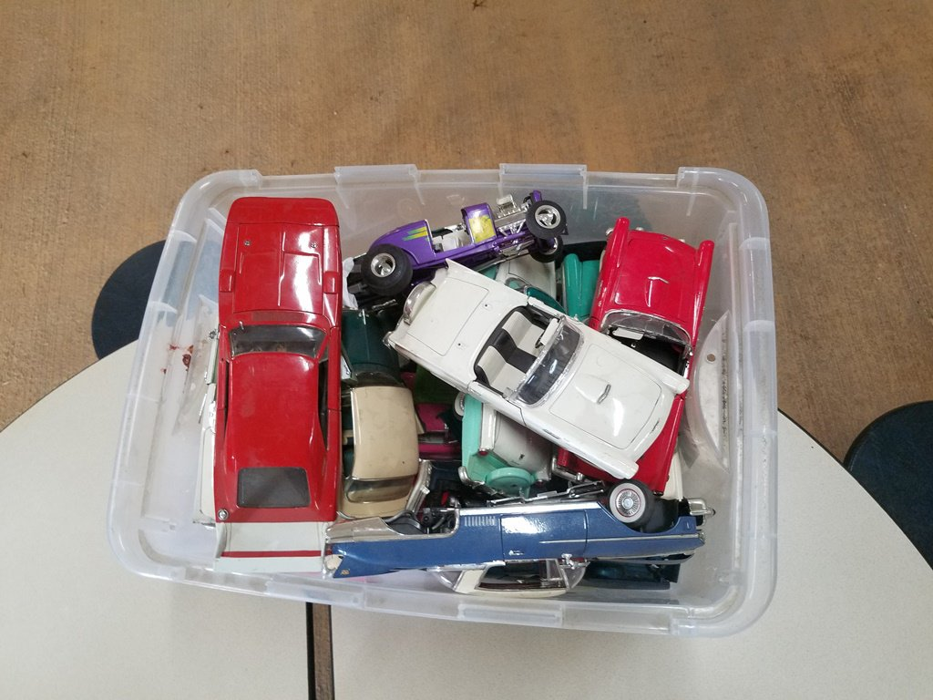 Assorted Model Cars W/ Missing Parts