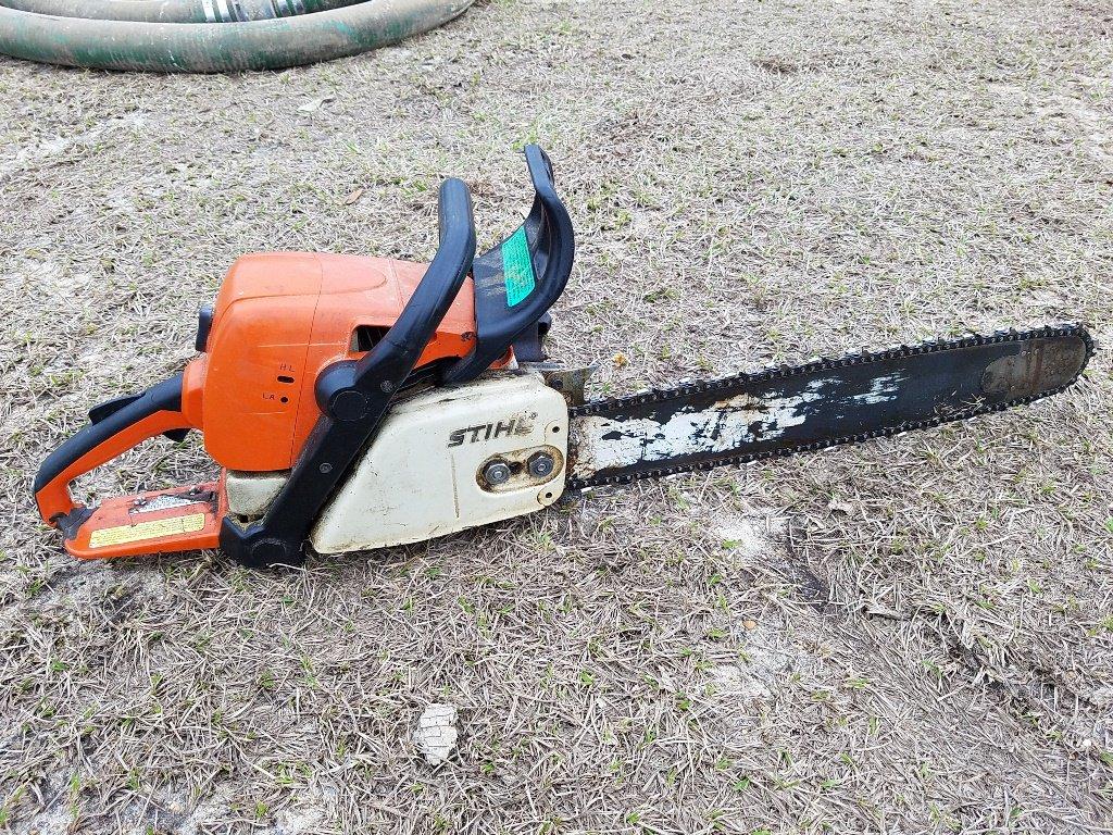 """STIHL MS310 Chainsaw 24"""" Bar *WORKS*"""