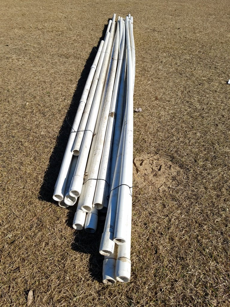 "2"" PVC 1120 SCH 40 Pipes"