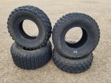 (2) AT22 X 7.00-10 Tires & (2) 22 X 10.00-10 Tires