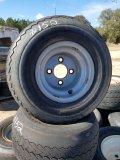 Appox 34 Golf Cart Tires W/ Rims