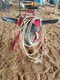 Roping Dummy W/ Steer Head & Rope