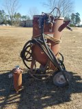 Sand Blaster On Wheels WORKS