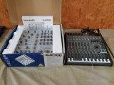 (1) Professional 5- Channel DJ Mixer W/ Digital
