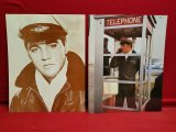 (2) 11 x 14 Old Photos Of Elvis Presley