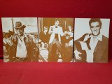 (3) 11 x 14 Old Photos Of Elvis Presley