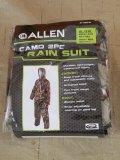 2pc Camo Rain Suit