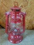 Red Hurricane Lantern