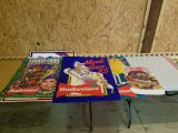 Assorted Mardi Gras Budweiser Posters