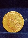 1909 Indian Head $10 Gold Coin
