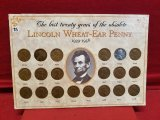 Lincoln Wheat-Ear Penny 1939 to 1958 Set Last