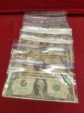 (10) Bar $1 Bills