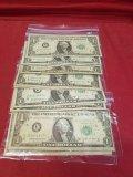 (11) Bar $1 Bills