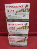 (999) Winchester .22LR Cartridges