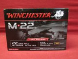 (1000) Winchester M-22 .22LR Cartridges