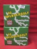 (1000) Remington Thuinderbolt .22LR Cartridges