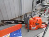 Husqvarna 385XP Chainsaw ** Works **