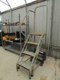 Step Ladder On Wheels