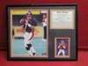 John Elway Denver Broncos Picture & Card In Frame