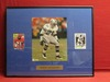 Deion Sanders Picture & Cards In Frame