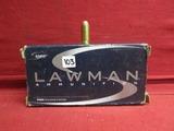 (50) Lawman .40 S&W Cartridges