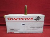 (50) Winchester .44 REM Mag Cartridges