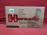 (20) Hornady 250 Savage Cartridges