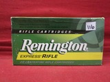 (20) Remington Express 220 Swift Cartridges