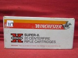 (20) Winchester Super X .32 Win Special Cartridges