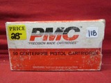 (50) PMC .32 Auto Cartridges