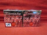 (50) Hornady Critical Duty 9mm Luger Cartridges