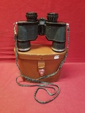 Vintage Bell & Howell Binoculars W/ Leather Case
