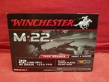 (1000) Winchester M*22 .22LR Cartridges