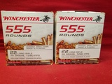 (1110) Winchester .22LR Cartridges