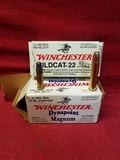 Assorted Winchester .22cal Cartridges