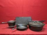 5PC Cast Iron Set ** NEW **
