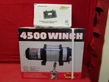 Wood 4500lb Power Winch W/ Universal Style