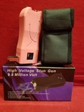 Pink High Voltage Stun Gun ** New **