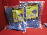 (2) 10x10 Blue Tarp ** NEW **