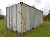 20ft L x 8ft W Container