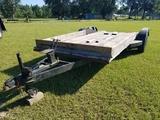 14ft Bumper Pull Dual Axle Trailer