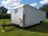 1999- 20ft Bumper Pull Enclosed Cargo Trailer