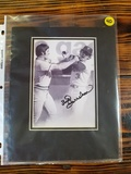 Bud Harrelson Autographed Baseball Picture
