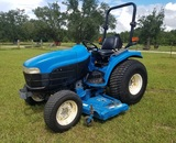 New Holland Model TC33D Hydrostatic Tractor