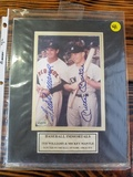 Baseball Immortals Ted Williams & Mickey Mantle