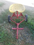 Pull Behind Tractor Seat