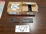 (25) LH & (25) RH Disc Mower Blades