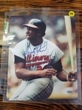 Frank Robinson Autographed Baseball Picture