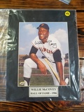 Willie McCovey 1986 Hall Of Fame Autographed