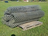 (7) 6ft Rolls Of Chain Link Fence